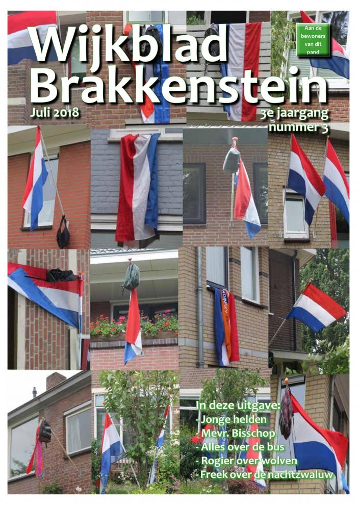 Wijkblad Brakkenstein Juli is uit
