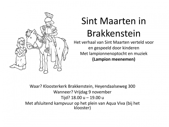 SINT MAARTEN IN BRAKKENSTEIN 9 november