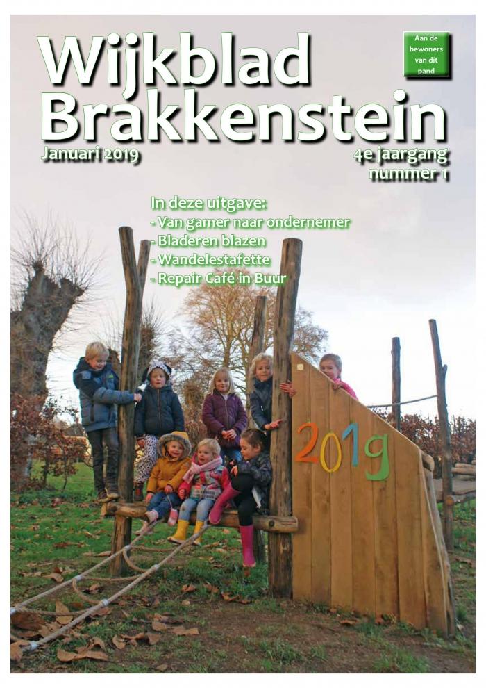 Het nieuwe wijkblad is uit - Bezorging zaterdag gestart