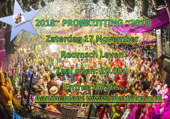 17 November 2018 Zittingsavond C.V. de Platte Knip